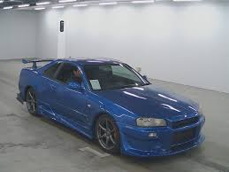 nissan skyline for sale in japan 2002 nissan skyline r34 gt r japanese used cars auction online
