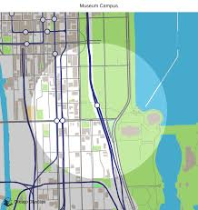 Green Line Map Chicago by Map Of Building Projects Properties And Businesses Near The