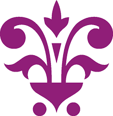 file flower in pot ornament purple png wikimedia commons