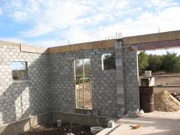 concrete block houses this product is incredible all you do is stack the blocks and grout