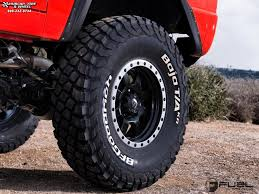 bronco trophy truck ford bronco fuel trophy d551 wheels matte black w anthracite ring