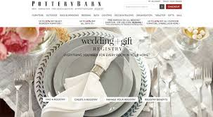 places for wedding registry pottery barn wedding registry image collections wedding dress