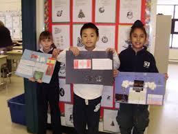 grade 3 around the world project
