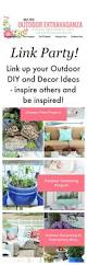 outdoor diy and decor inspiration setting for four