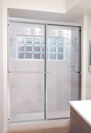 framed shower door and panel framed shower enclosure coastal