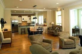 kitchen and living room design ideas open concept living room kitchen paint ideas colors for open concept