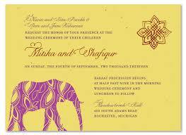 wedding invitation india indian wedding cards painted elephant seed paper wedding card