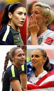 soccer hairstyles pics women s soccer hairstyles 2015 world cup hair hollywood life