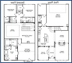 2 story floor plans simple 2 story house plans floor with basement home designs 1
