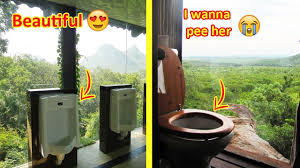 toilets with the most beautiful views in the world youtube