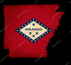 Us Map Outline Large Detailed Map Of Arkansas State Arkansas State Usa Maps