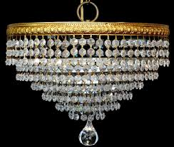 Vintage Glass Chandelier Antique Vintage Glass Prism Crystal Brass 7 Tiered Wedding Cake