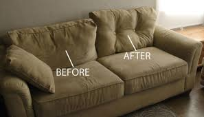 i thought this saggy couch was hopeless then i learned this cool