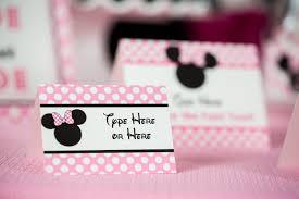 minnie mouse food labels u2014 505 design inc