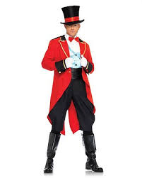 Circus Halloween Costume Ring Leader Costume Adults Mens Ring Master U0026 Circus Halloween