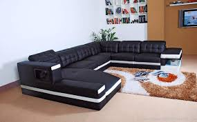 Black Leather Sofa Modern Black Leather Sofa Sets Inspiring Ideas For Living Room Hgnv
