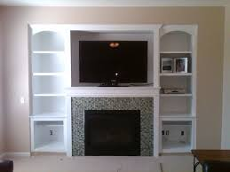Fireplace Wall Tile by Interior Engaging Home Interior Decoration Using White Wood