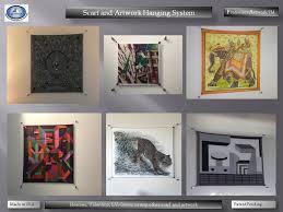 Hanging Artwork Scarf And Artwork Hanging System Amazon Com