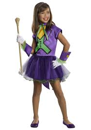 Halloween Spirit Costumes Kids Girls Joker Tutu Costume Halloween Costumes