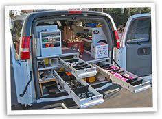 Cargo Van Shelves by Jerry Hillenburg U0026 Co Van Shop Storage Pinterest