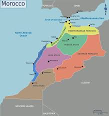 Map Of Spain And Morocco by Maps Update 9571291 Morocco Tourist Map U2013 Morocco Tourist Map