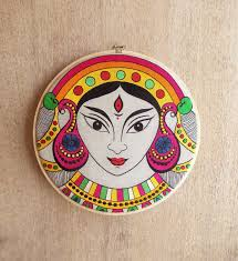 hoops wall art durga from the exclusive home decor and home