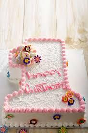 1st birthday cake 1st birthday cake baby girl number one
