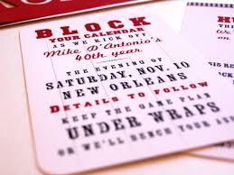40th Birthday Invitation Cards Birthday Save The Date Cards U2013 Gangcraft Net
