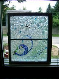 beach glass up cycled window beach house pinterest window