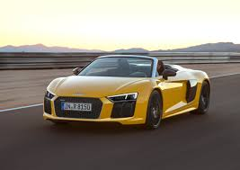 Audi R8 All Black - audi of america drops the top on the all new 2017 r8 v10 spyder