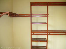 Closet Systems What Are The Characteristics Of Wood Closet Systems Shoe