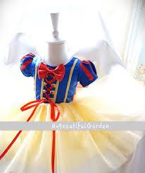 Snow White Halloween Costume Toddler Snow White Costume Baby Dress Baby Dress Toddler Gir Baby Tulle