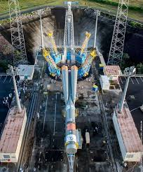 soyuz rocket counts down to first geostationary launch from french