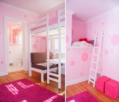 Cute Pink Rooms by Up Cycling A 1920s Bungalow January Pink Little Girls Room Wall