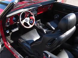 1968 Firebird Interior 1968 Pontiac Firebird Custom Convertible 116945