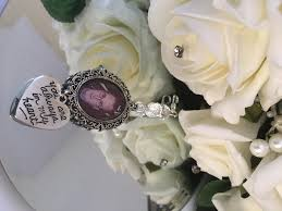 Wedding Memorial Personalised Bouquet Memory Photo Charm Wedding Memorial Crystal