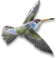 brooches pins 152807 ruby throated hummingbird cloisonne pin by