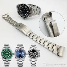 stainless steel bracelet strap images Watchband 20mm 21mm watch band strap 316l stainless steel bracelet jpg