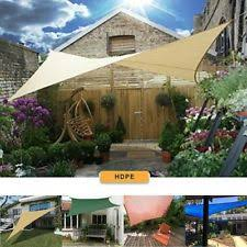 patio shade sails ebay