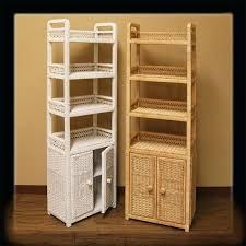 White Wicker Bathroom Storage Great White Wicker Bathroom Cabinet Paradise Rattan Furniture