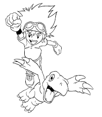 17 digimon coloring images digimon