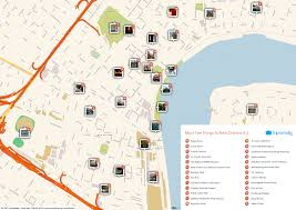 New Orleans Street Map Pdf by Free Printable Map Of New Orleans Attractions Free Tourist Maps