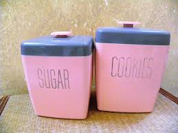Pink Kitchen Canister Set Glass Canister Set For Kitchen U2014 All Home Ideas And Decor