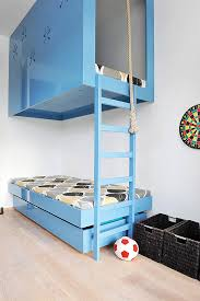 Amazing Hideaway Spaces For Kids Handmade Charlotte - Suspended bunk beds