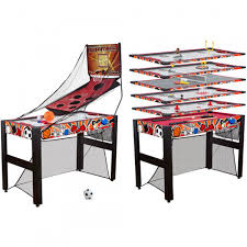 medal sports game table medal sports 48 10 in 1 multi activity game table shoptv
