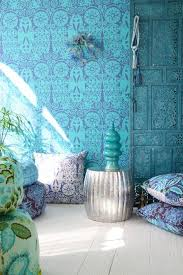 could do something like this in the bedroom wall paper or easier