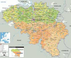 Brussels Map Download Map Of France And Belgium With Cities Major Tourist