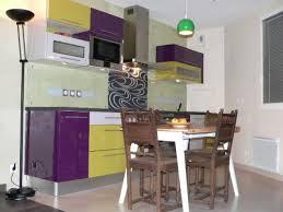 cuisine bi couleur crédence de cuisine originale laquée sur mesure avec motif le