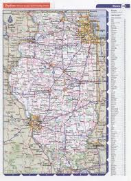 Bloomington Illinois Map by Highway Histories