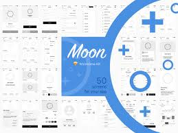 moon wireframe kit freebie download sketch resource sketch repo